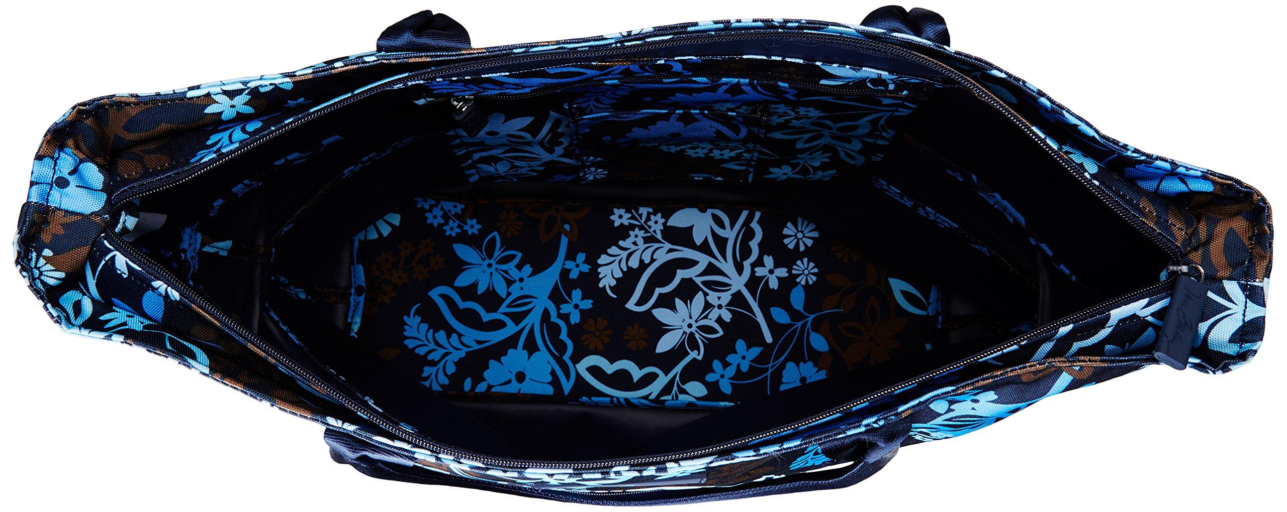 Vera Bradley Women's Lighten up Expandable Travel Tote, Java Floral by Vera Bradley (Image #5)