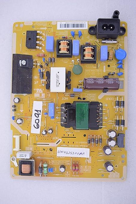 Samsung UN43J5200AF L48MSF_FDY BN44-00852A BN44-00852B Placa de Fuente de alimentación 6091: Amazon.es: Electrónica