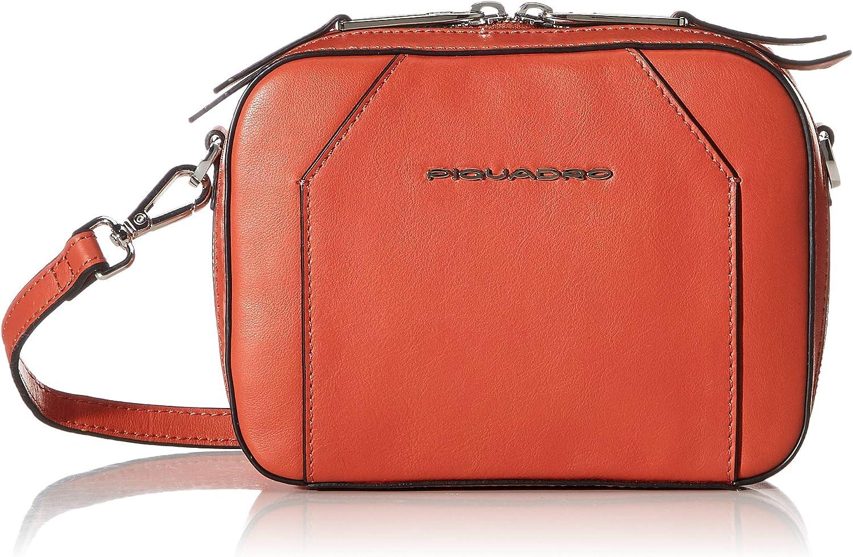 Piquadro Pilot Case Orange OFFicial mail order 18 security centimeters Arancio