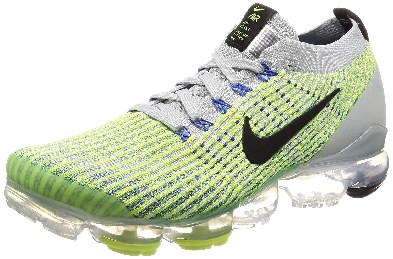 MultiCouleure (Light argent noir Volt Glow Game Royal 000) Nike Air Vapormax Flyknit 3, Chaussures d'Athlétisme Homme 47.5 EU
