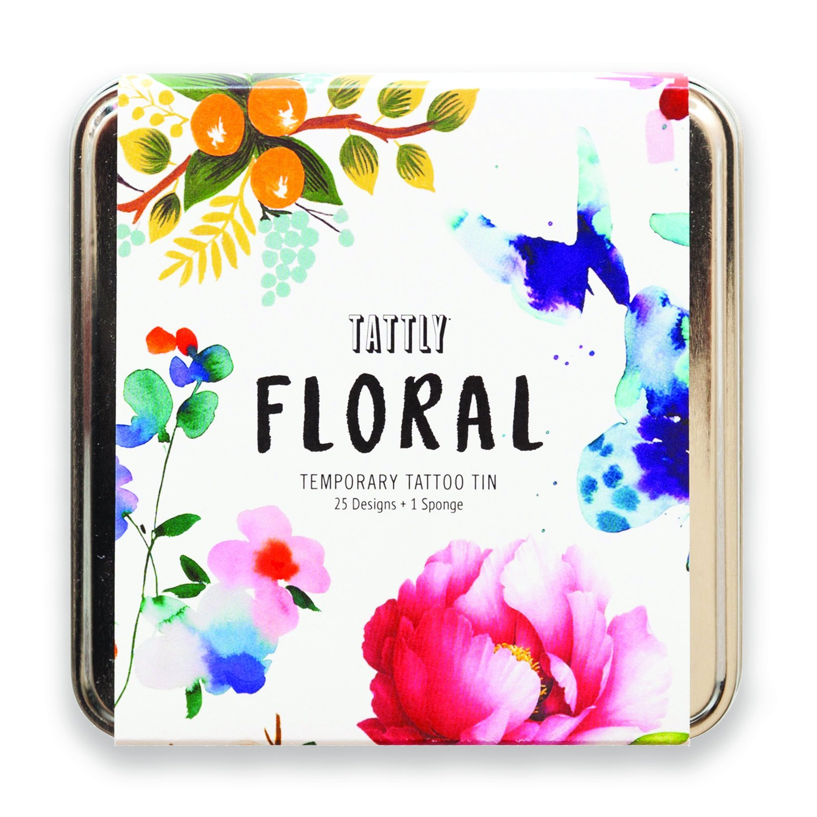 Tattly Temporary Tattoos, The Floral Tattly Pack, 0.26 Ounce