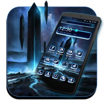 Amazoncom Futuristic Tech Theme Appstore For Android