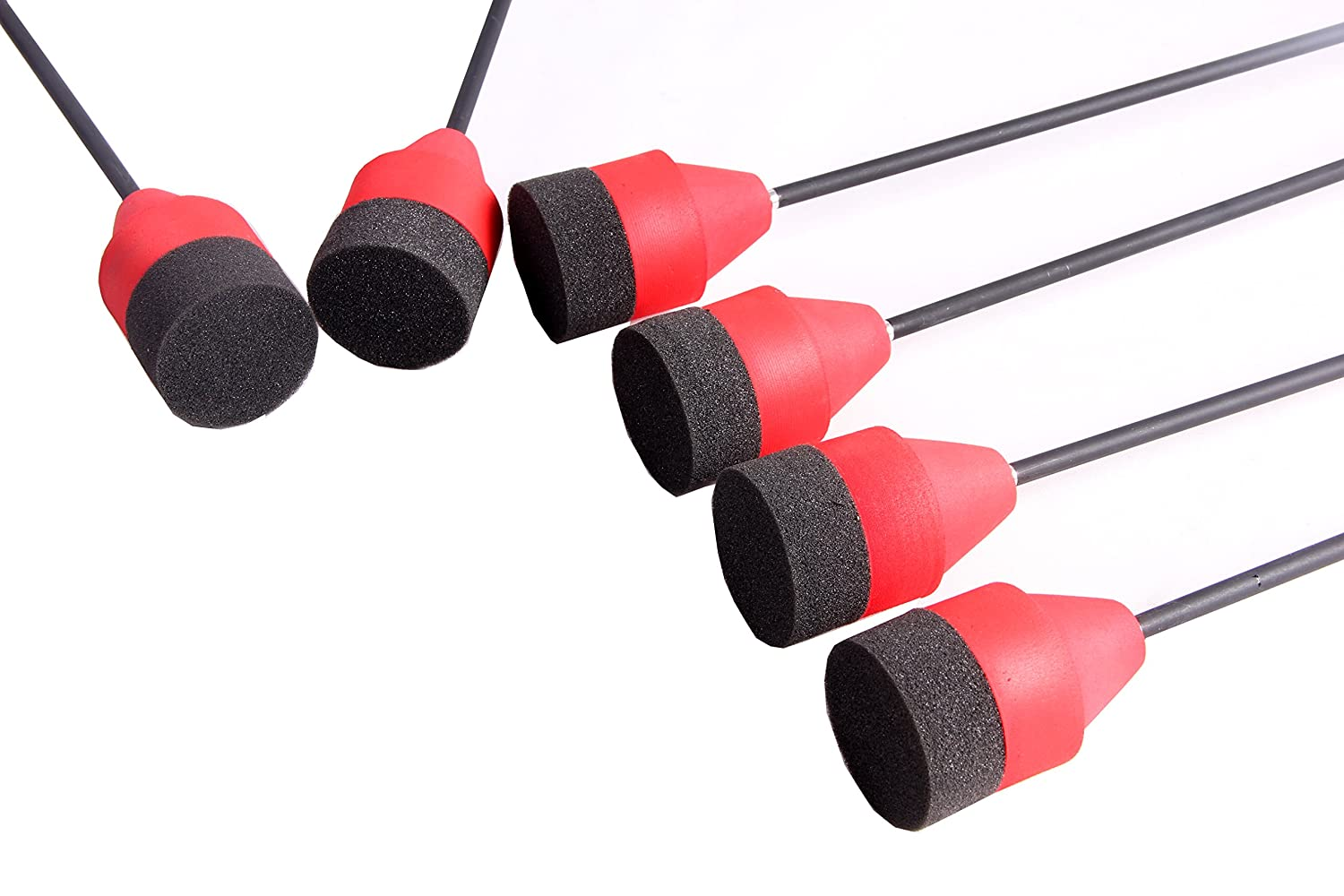 PG1ARCHERY Carbon Larp Arrows Foam Tips Broadhead Feather Fletched with Replaceable Screw-in Field Points and Arrow Target for Archery Practice CS Game
