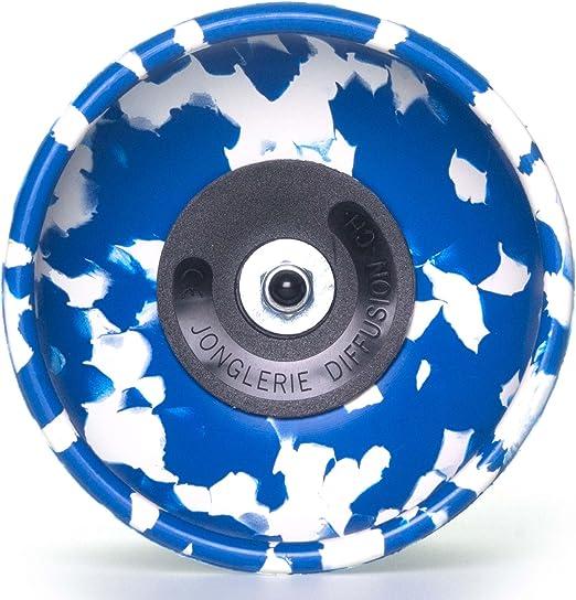Diabolo Ficelle Blanc // Bleu + Bleu Fibre B/âtons /à la main Diabolo Baguettes en Fiber Diabolos Sac de transport. HARLEQUIN Diabolo Pro