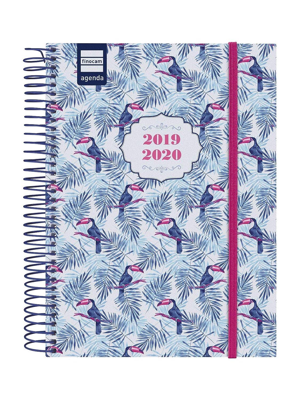 Finocam - Agenda 2019-2020 1 día página español Secundaria Toucan