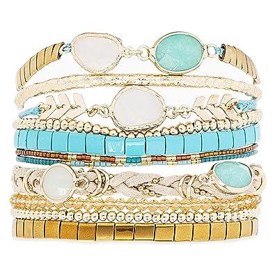 100% authentifié chaussures classiques classique chic Hipanema - bracelet femme chamade - S: Amazon.fr: Bijoux