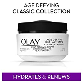 Olay Age-Defying Classic Daily Renewal Moisturizer Cream