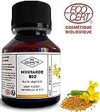 Huile végétale de Moutarde BIO Cosmétique - MyCosmetik - 125 ml