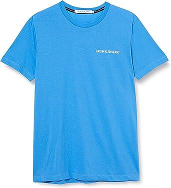 Calvin Klein Institutional Chest Logo SS tee Camisa para Hombre: Amazon.es: Ropa y accesorios