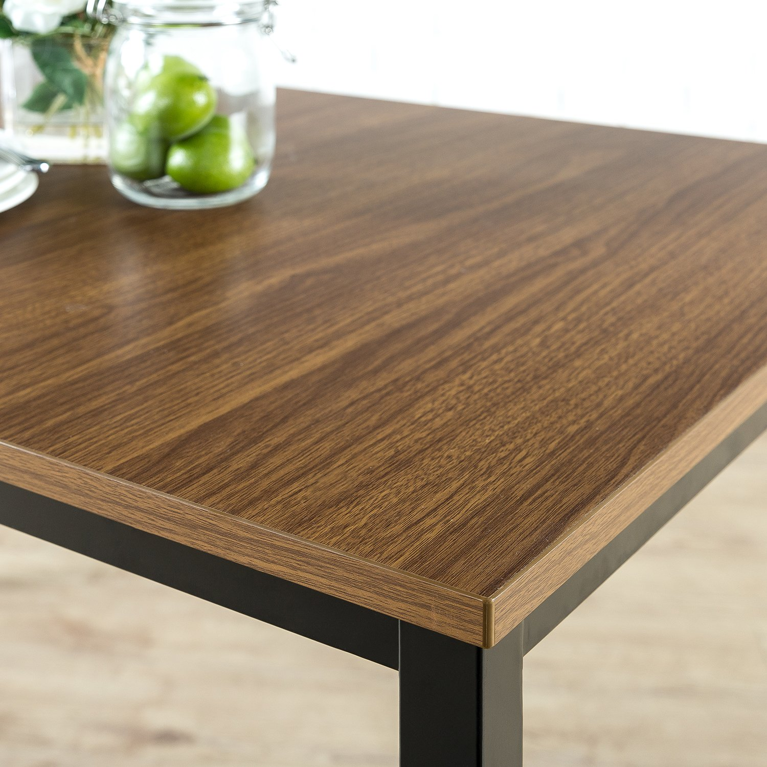 Zinus Modern Studio Collection Soho Dining Table/Office Desk/Computer Desk/Table Only, Brown by Zinus (Image #6)