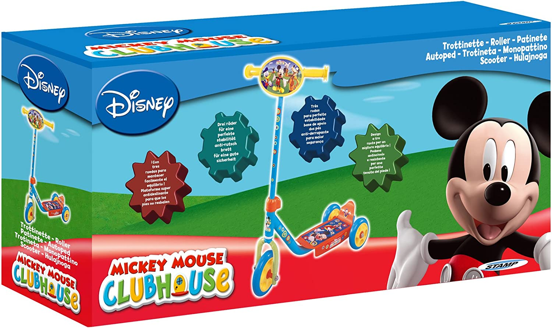 Amazon.com: Disney J100046 Mickey Mouse – Patinete de 3 ...