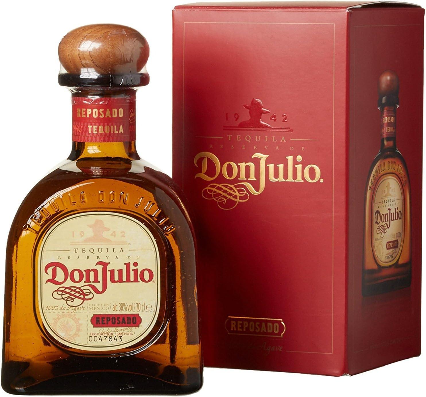 Don Julio Tequila Reposado - 700 ml: Amazon.es: Alimentación y bebidas