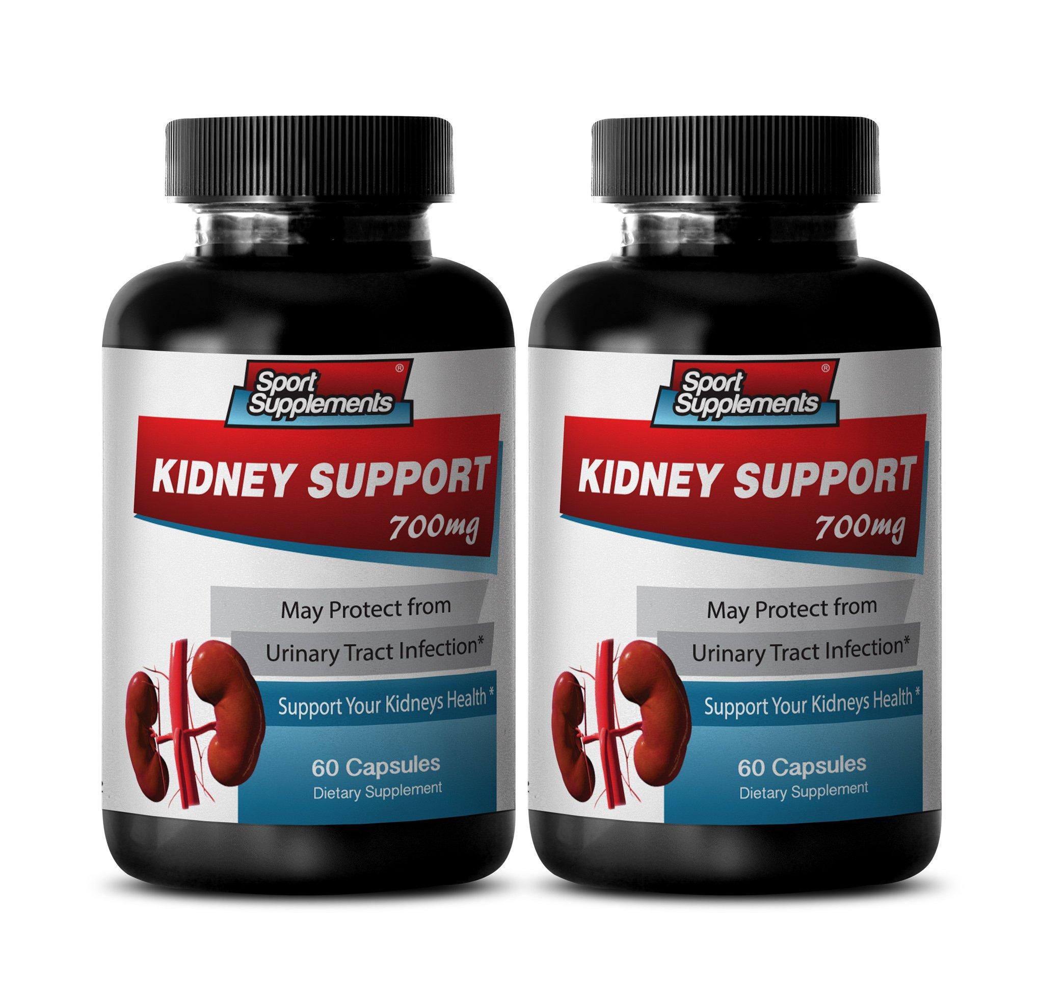 antiaging skin care - KIDNEY SUPPORT - nettles tea - 2 Bottles (120 Capsules)