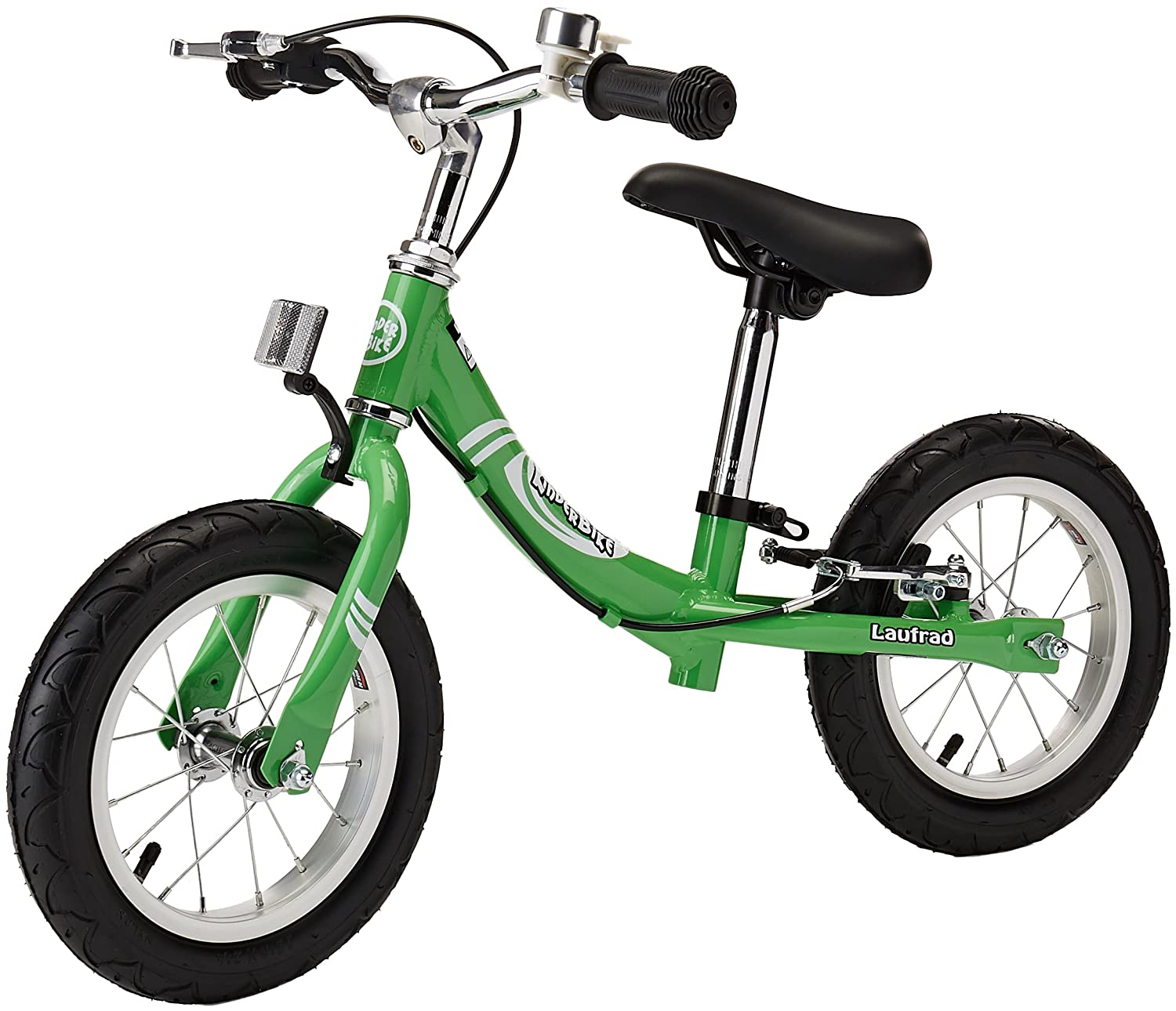 KinderBike Laufrad 2014 Bike, Green L1014GUS15