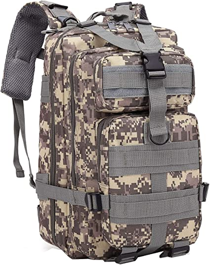 DIGITAL Camo Tactical Gear Backpack  Assault Bag Free Shipping Daypack Hunting