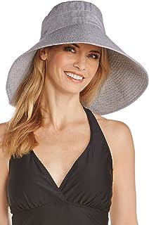 d9178532eab Coolibar UPF 50+ Women s Shapeable Sun Catcher Hat - Sun Protective ...