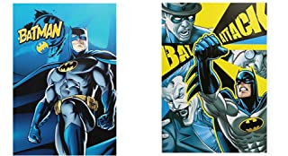 Warner Bros Batman set 2 quaderni maxi A/4 Rigo Q Accademia DS31