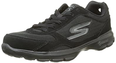 Skechers Women 14073 Low-Top Black Size: 2 UK