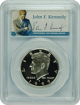 1997-S PCGS PR69DCAM Kennedy SILVER Half Dollar Presidential Label