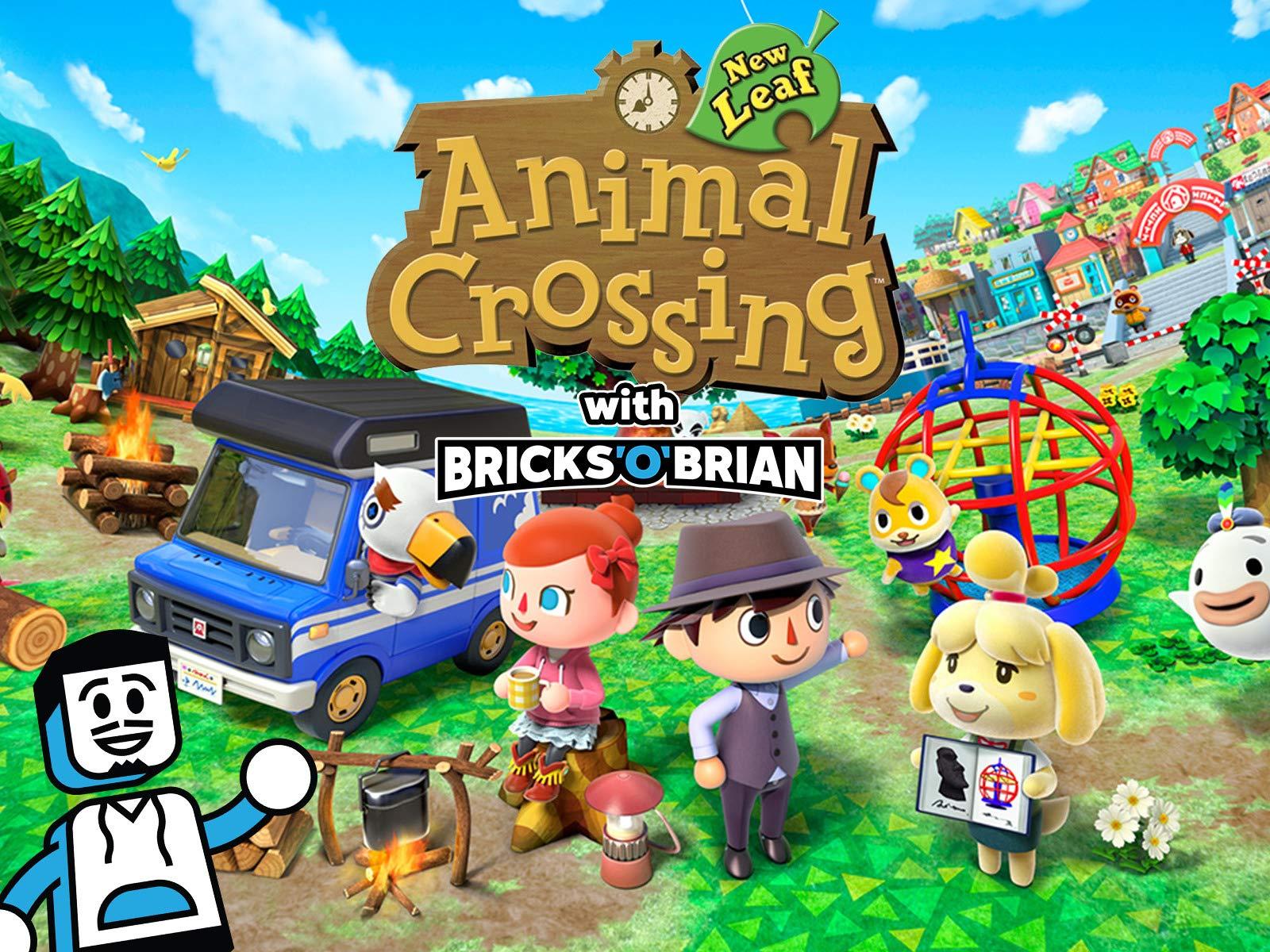 Amazon Com Watch Clip Animal Crossing New Leaf With Bricks O