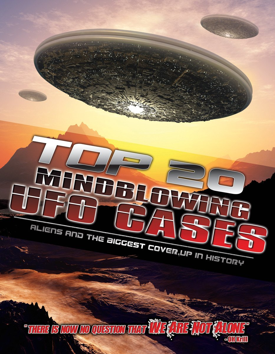 DVD : Top 20 Mind Blowing UFO Cases: Aliens and The Biggest Cover-Up InHistory (DVD)