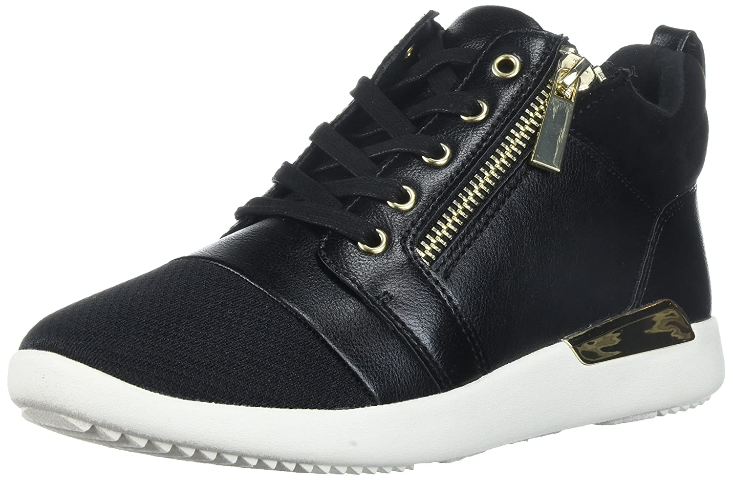 ALDO Women's Naven Fashion Sneaker B072F8YVZW 5 B(M) US|Black Synthetic