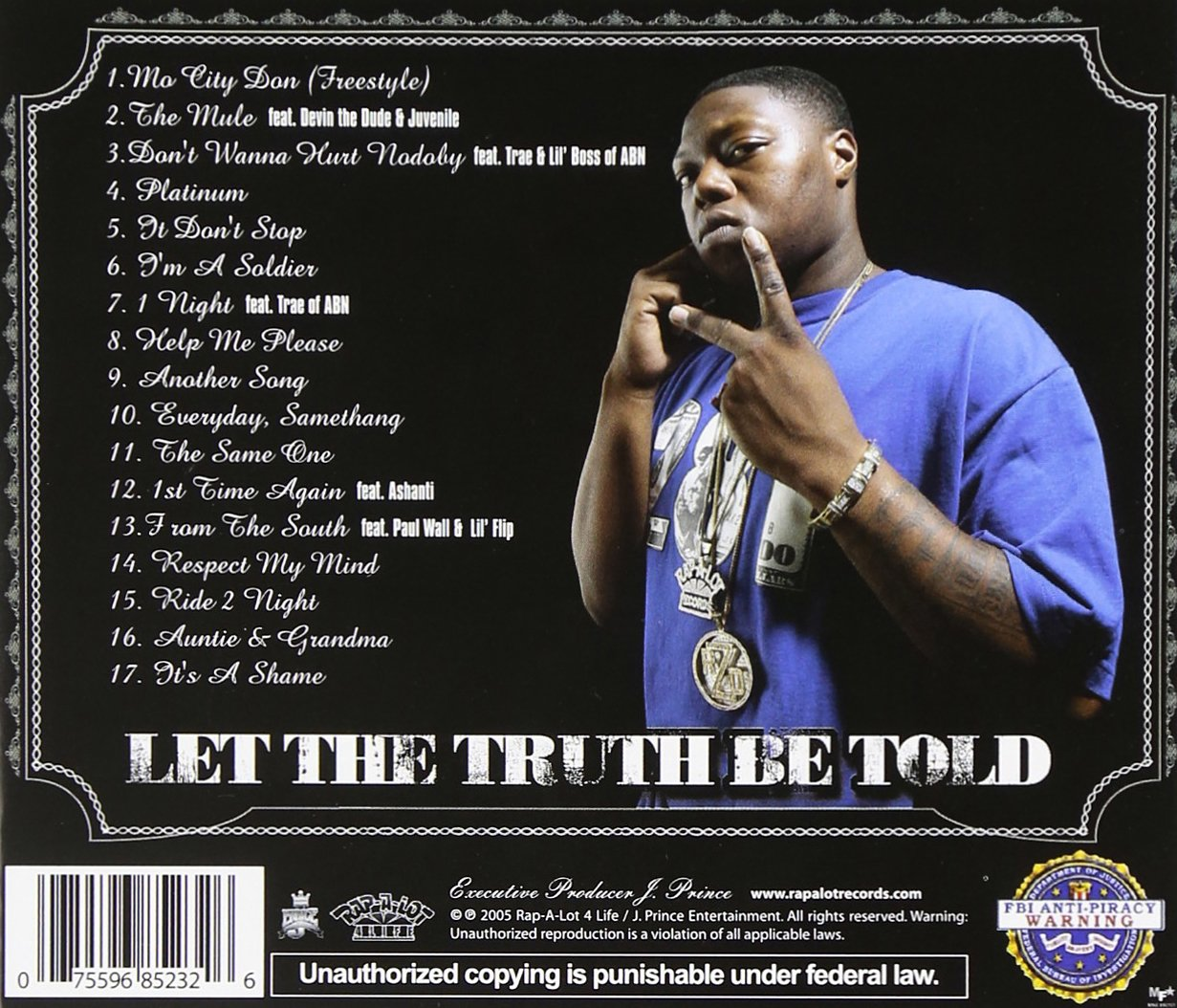 Z Ro Let The Truth Be Told Amazon Com Music