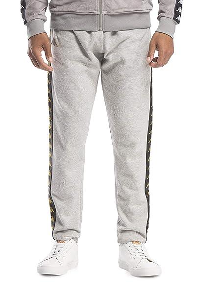 pantalone kappa grigio