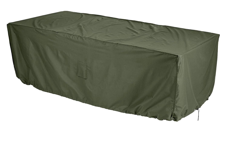 Gardman 34320 4-6 Seater Rectangular Patio Set Cover, Green, 29 x 12 x 33 cm