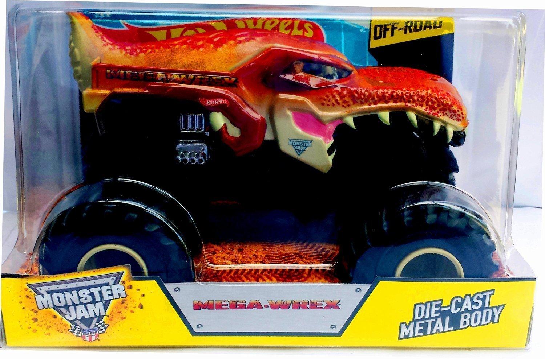 2015 Hot Wheels Monster Jam 1  24 Scale megawrex Monster Truck by Mattel
