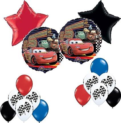 Amazon.com: Disney Pixar Cars Fiesta de cumpleaños ...
