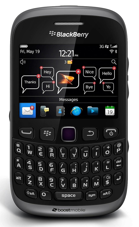 Amazon.com: BlackBerry Curve 9310 Prepaid Phone (Boost Mobile): Cell Phones  & Accessories