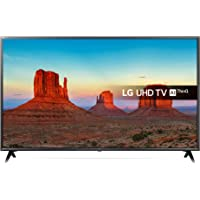 LG 43UK6300PLB 43-Inch UHD 4K HDR Smart LED TV with Freeview Play - Black (2018 Model) (Refurbished)