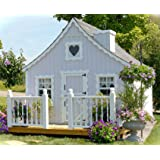 Little Cottage Company Gingerbread DIY Playhouse Kit, 8' x 8'