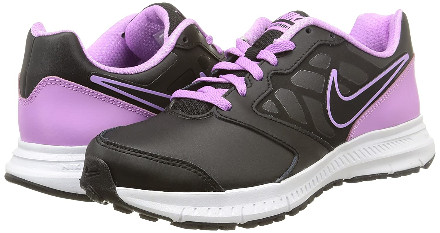 Nike Zapatillas Wmns Downshifter 6 Lea Negro/Morado EU 36.5 (US 6)  Amarillo (Safety Yellow-Puma White 02) bTRSGBegt