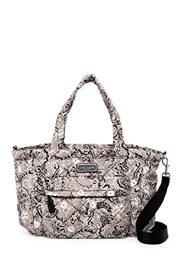 4e7e5827a7d Amazon.com: Marc by Marc Jacobs Crosby Nylon Quilted Diaper Bag (Grey  Floral): Shoes