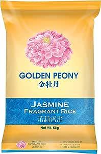 Golden Peony Jasmine Fragrant Rice, 5kg