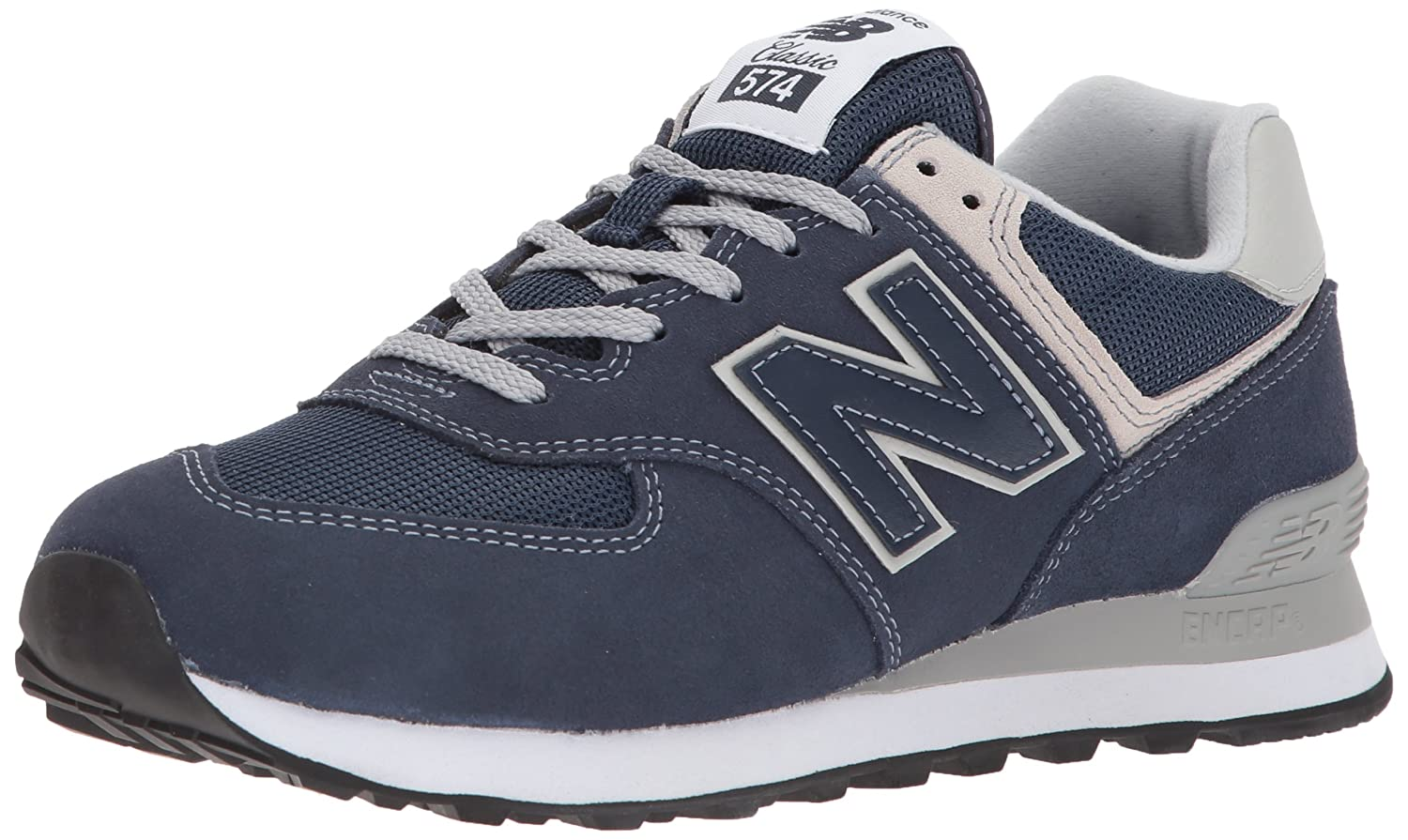 New Balance Women's Iconic 574 Sneaker B072FQSNHV 6 D US|Navy
