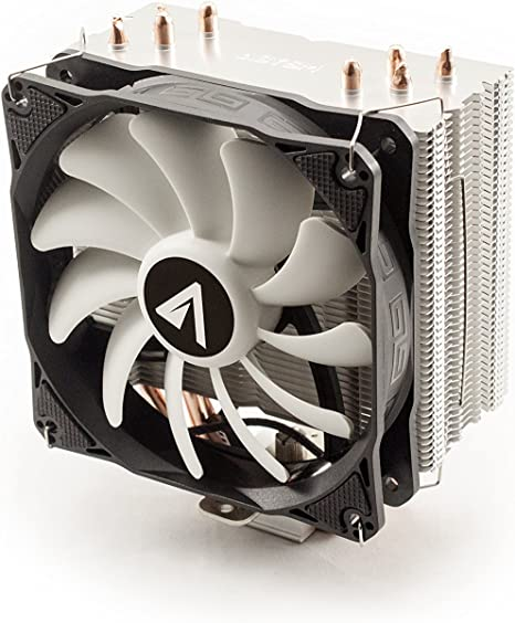 Abysm Snow IV - Ventilador CPU de 4 Heatpipes, Color Negro: Amazon ...