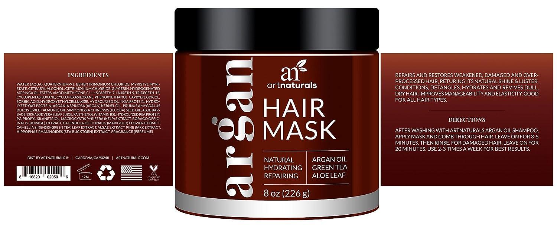 Amazon Com Artnaturals Argan Oil Hair Mask 8 Oz 226g Deep