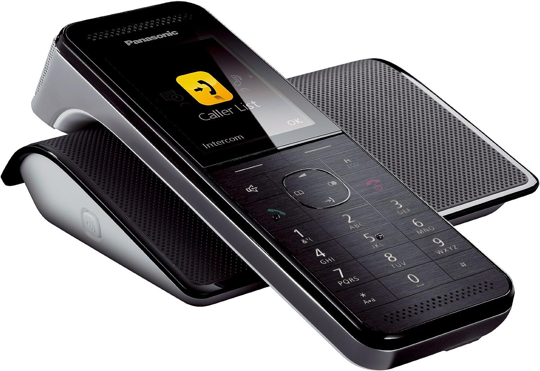 Panasonic KX-PRW120 - Teléfono Fijo Digital (inalámbrico, DECT), Negro (Importado) [versión importada]