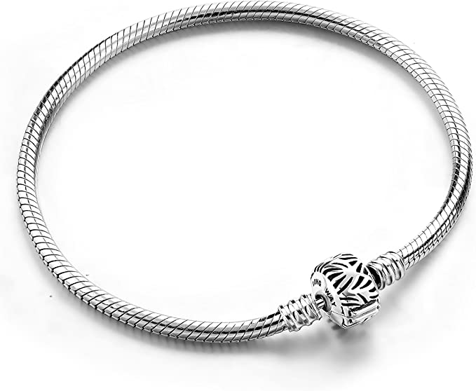 Women/'s bracelet Cordon Silver 925 two rounds bracelet snake silver bracelet love gifts for women jewelry trend charms Bracelet Women
