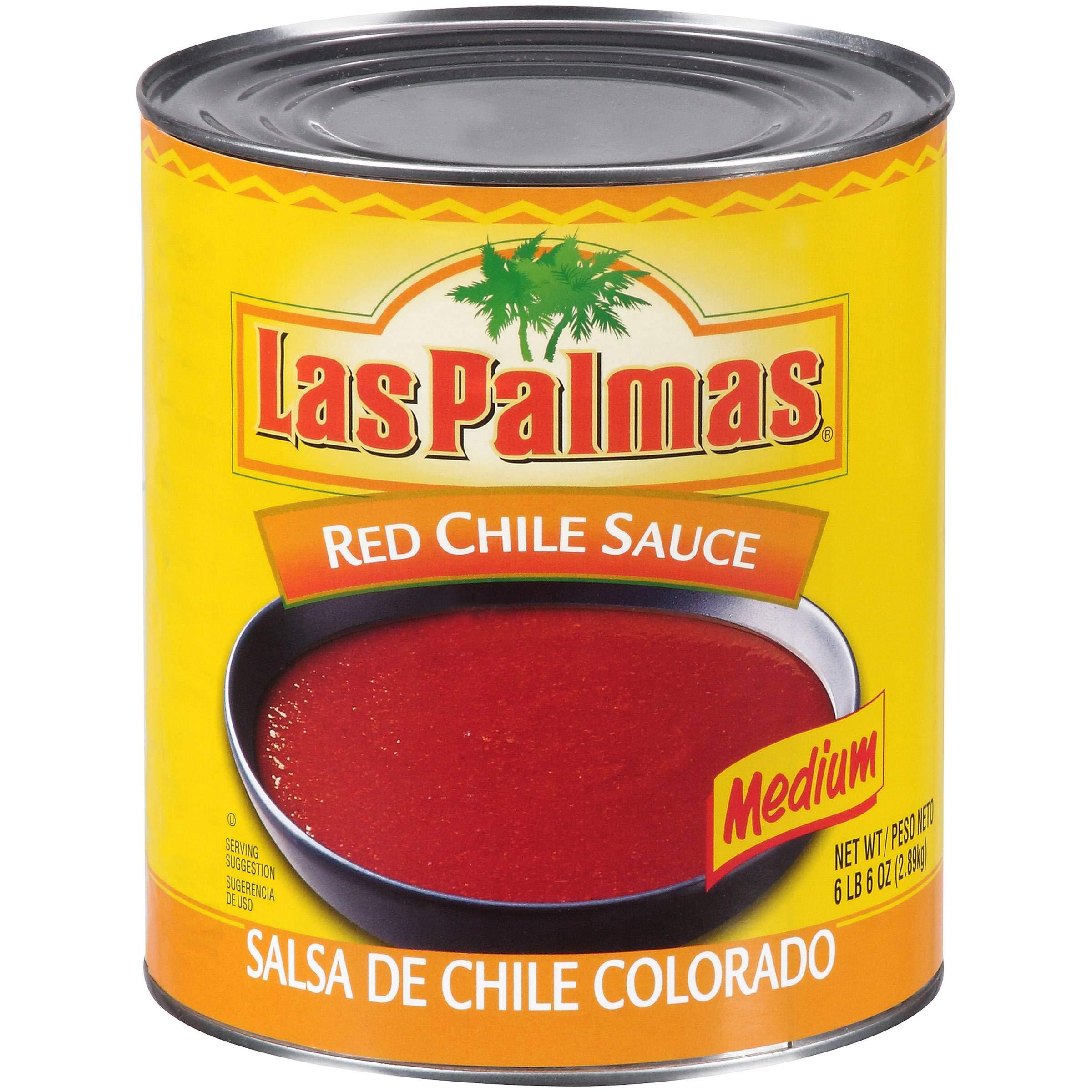 Las Palmas Red Chili Sauce, 102 Ounce -- 6 Case