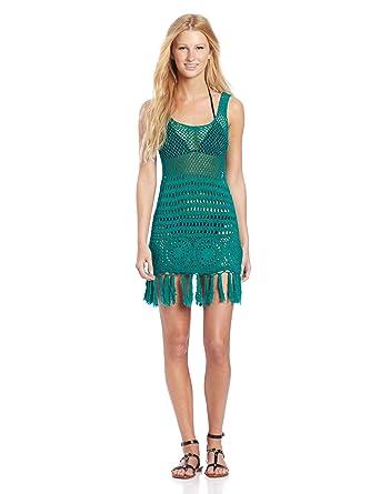 fee441328056d Roxy Juniors Boho Bliss Dress at Amazon Women's Clothing store: Fashion Swimwear  Cover Ups