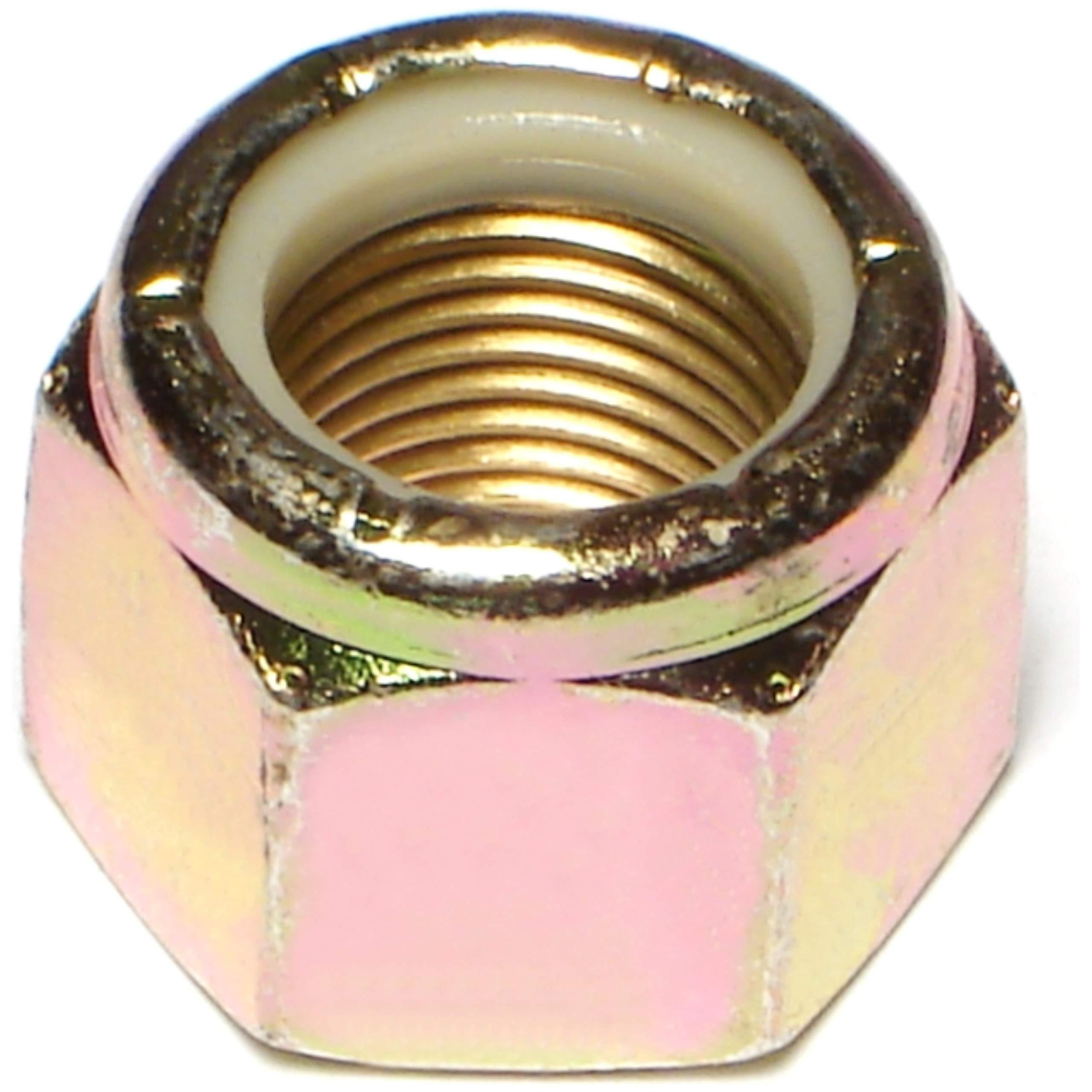Hard-to-Find Fastener 014973473792 Grade 8 Fine Lock Nuts, 5/8-18, Piece-25