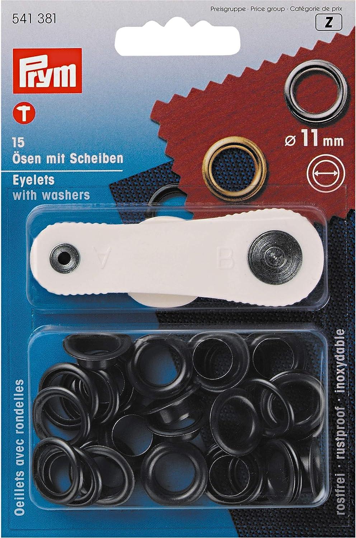 20 Ösen mit Scheiben 14 mmSilber inklusive Anleitung und Werkzeug NEU