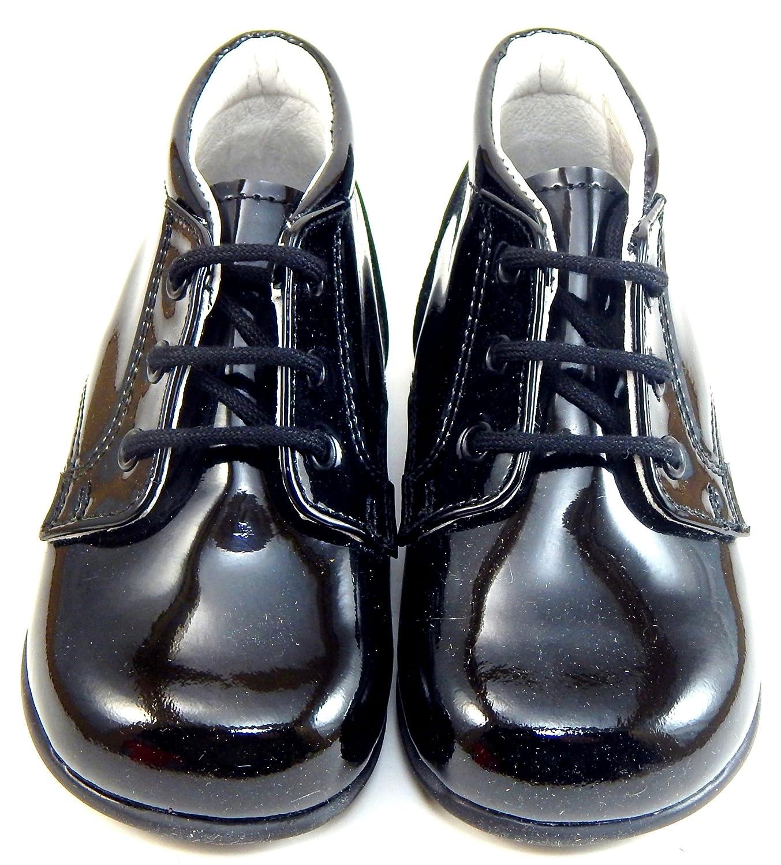 Black Patent Leather Dress Boots De Osu P-7779 Infant//Toddler