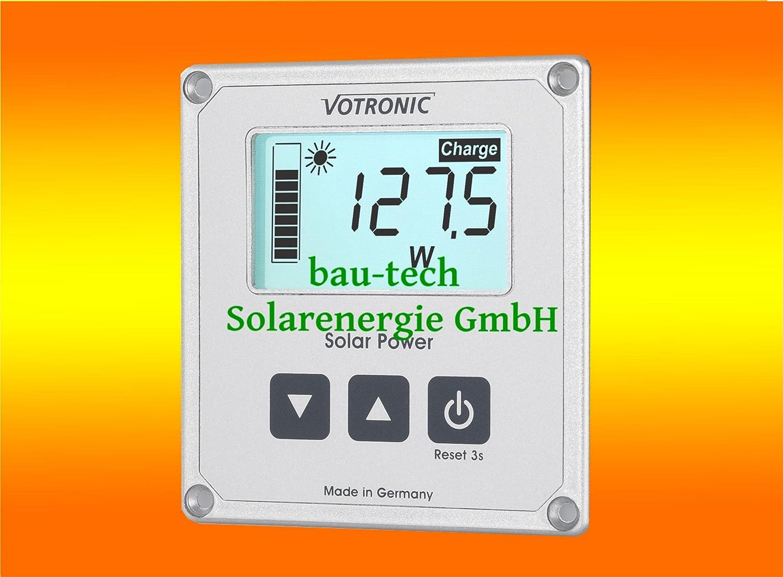 Votronic LCD Solar Computer S 1250 bau-tech Solarenergie