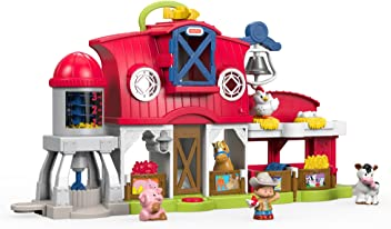 Fisher-Price Little People Caring Animals Farm Set