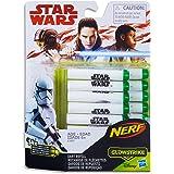 Star Wars - 14 Pack of Genuine Glow in The Dark Nerf Elite Darts